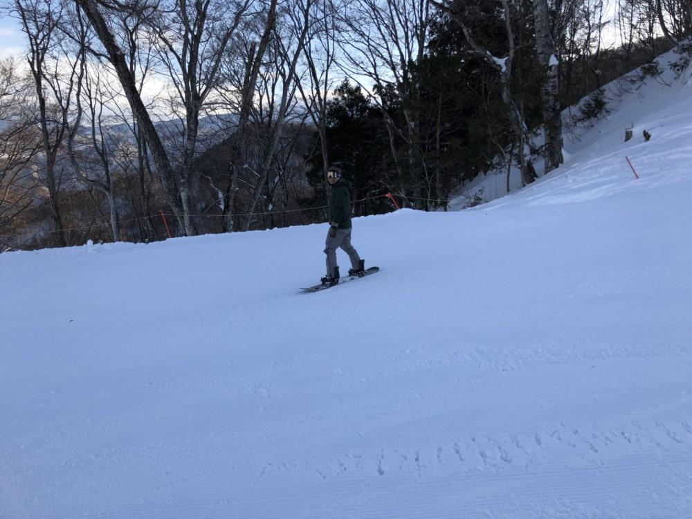 雪山トレーニング