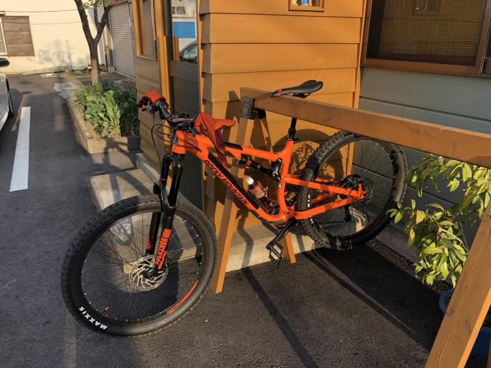 前橋市のひかり接骨院生きたマウンテンバイク