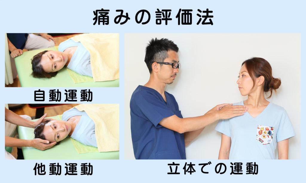 頚部の痛みの評価